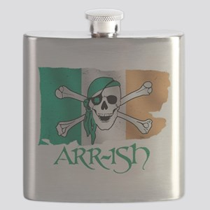 Arr-ish Pirate Flask