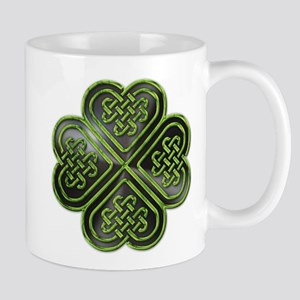 Celtic Knot Shamrock Mug