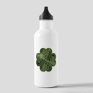Celtic Knot Shamrock Stainless Water Bottle 1.0L