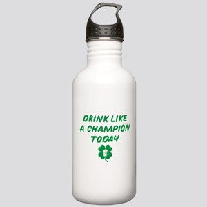 Drink Like A Champion Stainless Water Bottle 1.0L