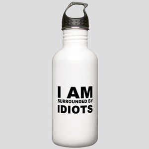 i am surrounded by idi Stainless Water Bottle 1.0L