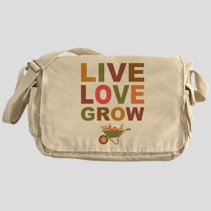 Live Love Grow Messenger Bag