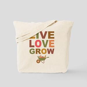 Live Love Grow Tote Bag