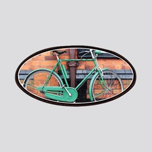 Green Bicycle Vintage Patch