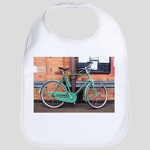 Green Bicycle Vintage Bib