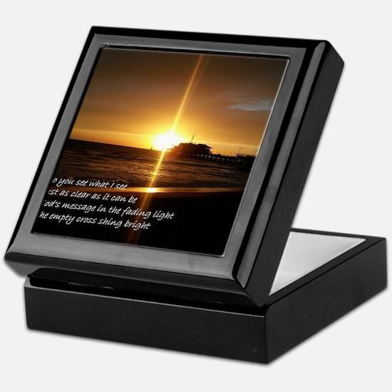 Cool Inspirational poem Keepsake Box