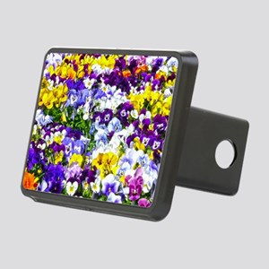 Pansies Hitch Cover