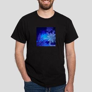 Yeah I'm flaky snowflake Dark T-Shirt