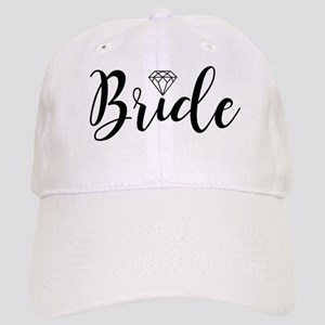 Chic Typography - Bride Cap
