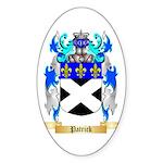 Patrick Sticker (Oval 50 pk)