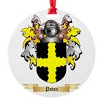 Paton Round Ornament