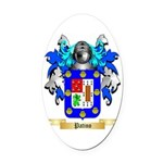 Patino Oval Car Magnet