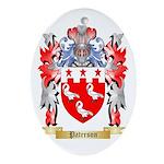 Paterson Oval Ornament