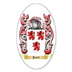 Patel Sticker (Oval 50 pk)