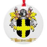 Pate Round Ornament