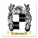 Patching Square Car Magnet 3