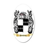 Patching 35x21 Oval Wall Decal