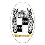 Patchen Sticker (Oval 50 pk)