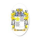 Patchell Oval Car Magnet