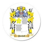 Patchell Round Car Magnet