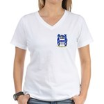 Paszek Women's V-Neck T-Shirt