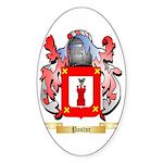 Pastor Sticker (Oval)
