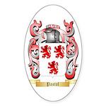 Pastol Sticker (Oval 50 pk)