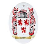 Pastol Oval Ornament