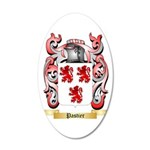 Pastier 35x21 Oval Wall Decal