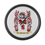Pastier Large Wall Clock