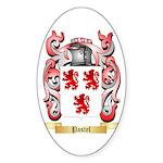 Pastel Sticker (Oval 10 pk)