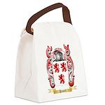 Pastel Canvas Lunch Bag