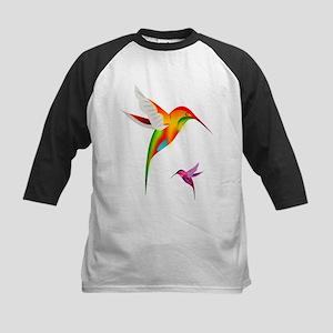 Colorful Hummingbirds Birds Baseball Jersey