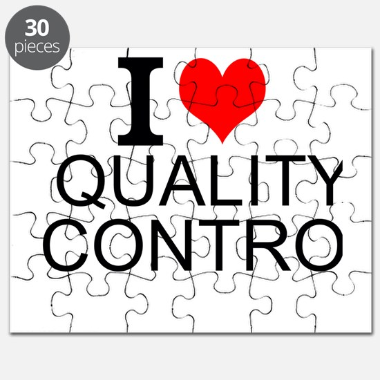 I Love Quality Control Puzzle