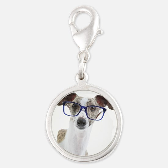 Whippet with lens Charms