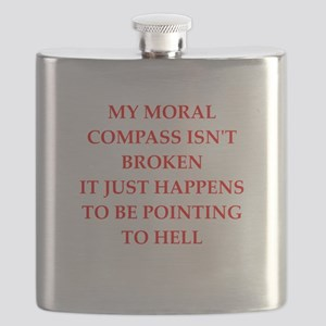 moral compass Flask