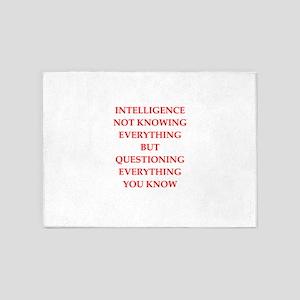 intelligence 5'x7'Area Rug