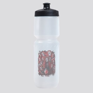 12 Jasons Friday the 13th Sports Bottle
