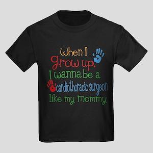Cardiothoracic Surgeon Like Momm Kids Dark T-Shirt