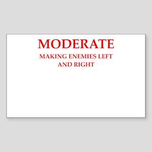 moderate Sticker