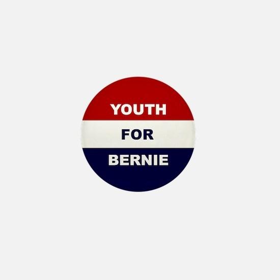 Youth for Bernie Mini Button
