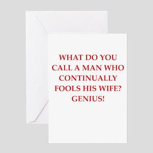genius Greeting Cards