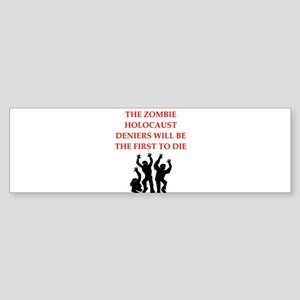 zombies Bumper Sticker