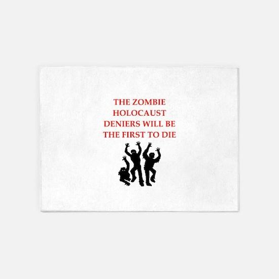 zombies 5'x7'Area Rug