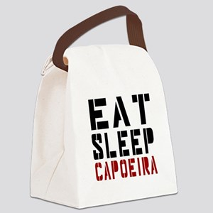 Eat Sleep Capoeira Canvas Lunch Bag