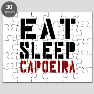 Eat Sleep Capoeira Puzzle