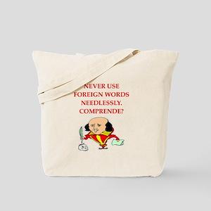 writing rule Tote Bag