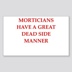 mortician Sticker