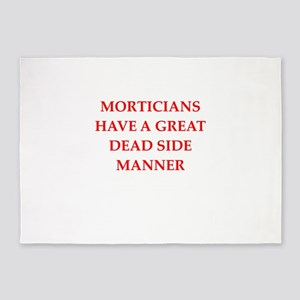 mortician 5'x7'Area Rug