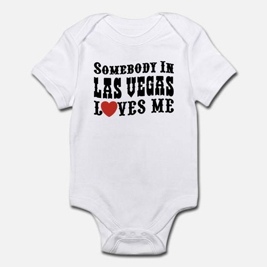 Somebody In Las Vegas Loves Me Infant Bodysuit